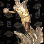 Thumbnail of Magic Johnson Sculpture in LA – Sports Commission Bronze Statue
