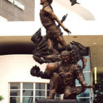 Thumbnail of Wilt Chamberlain – Sports Commission Bronze Statue