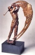 City of Hope Tournament – Sports Commission Bronze Statue