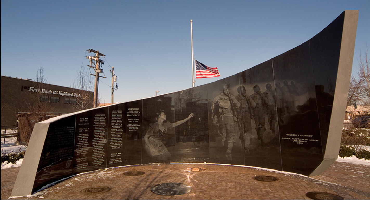 Freedom's Sacrifice: American Legion Memorial
