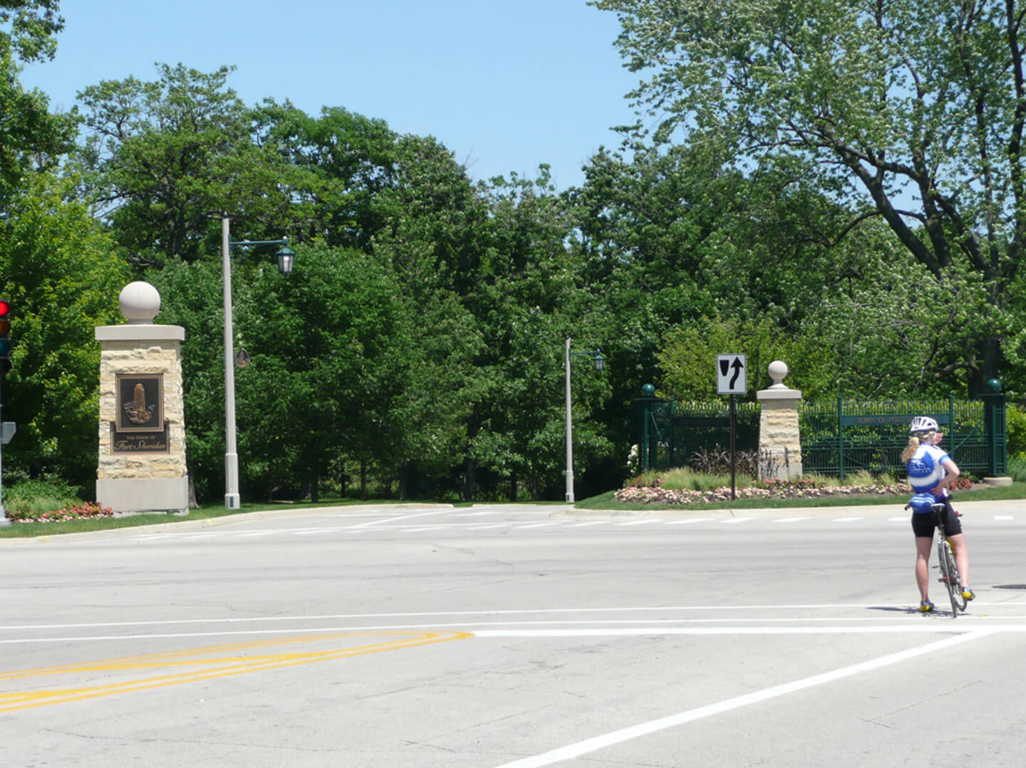 Ft. Sheridan Entrance
