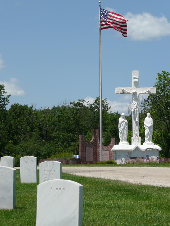 Ft. Sheridan Graveyard Sculpture