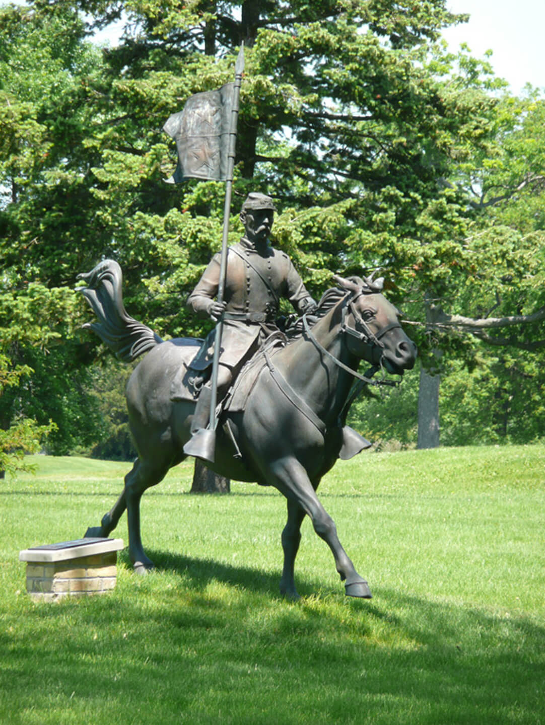 General Sheridan Sculpture