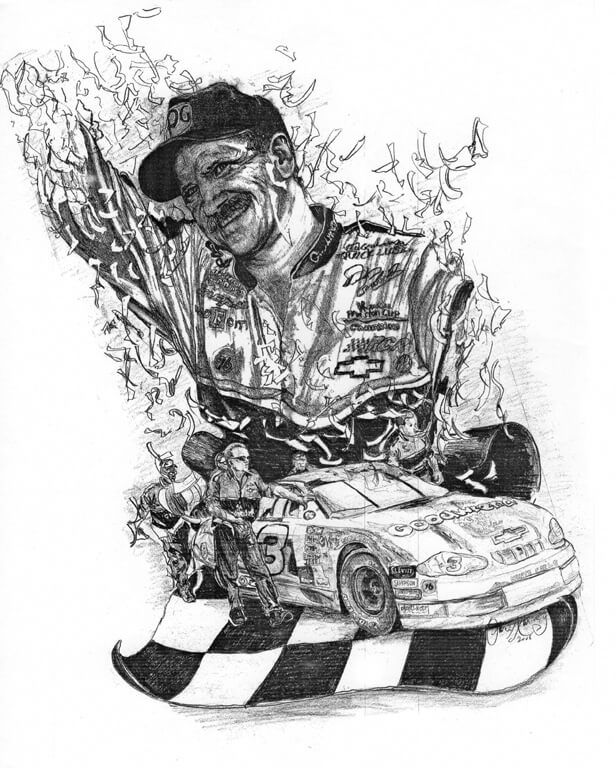Homage to Dale Earnhardt
