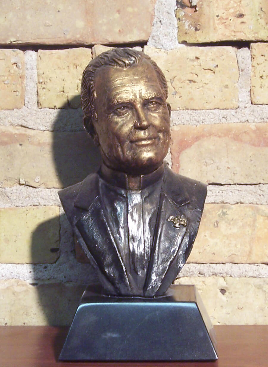 Father Hesburgh Bust