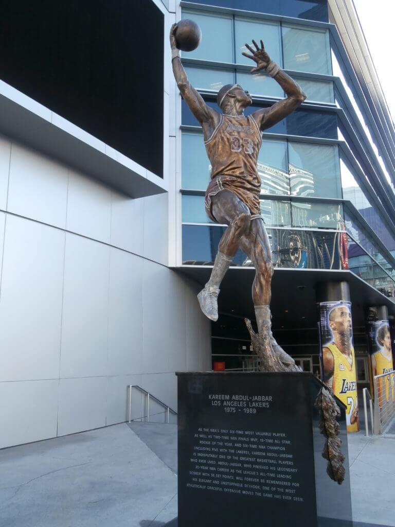 Image result for kareem statue