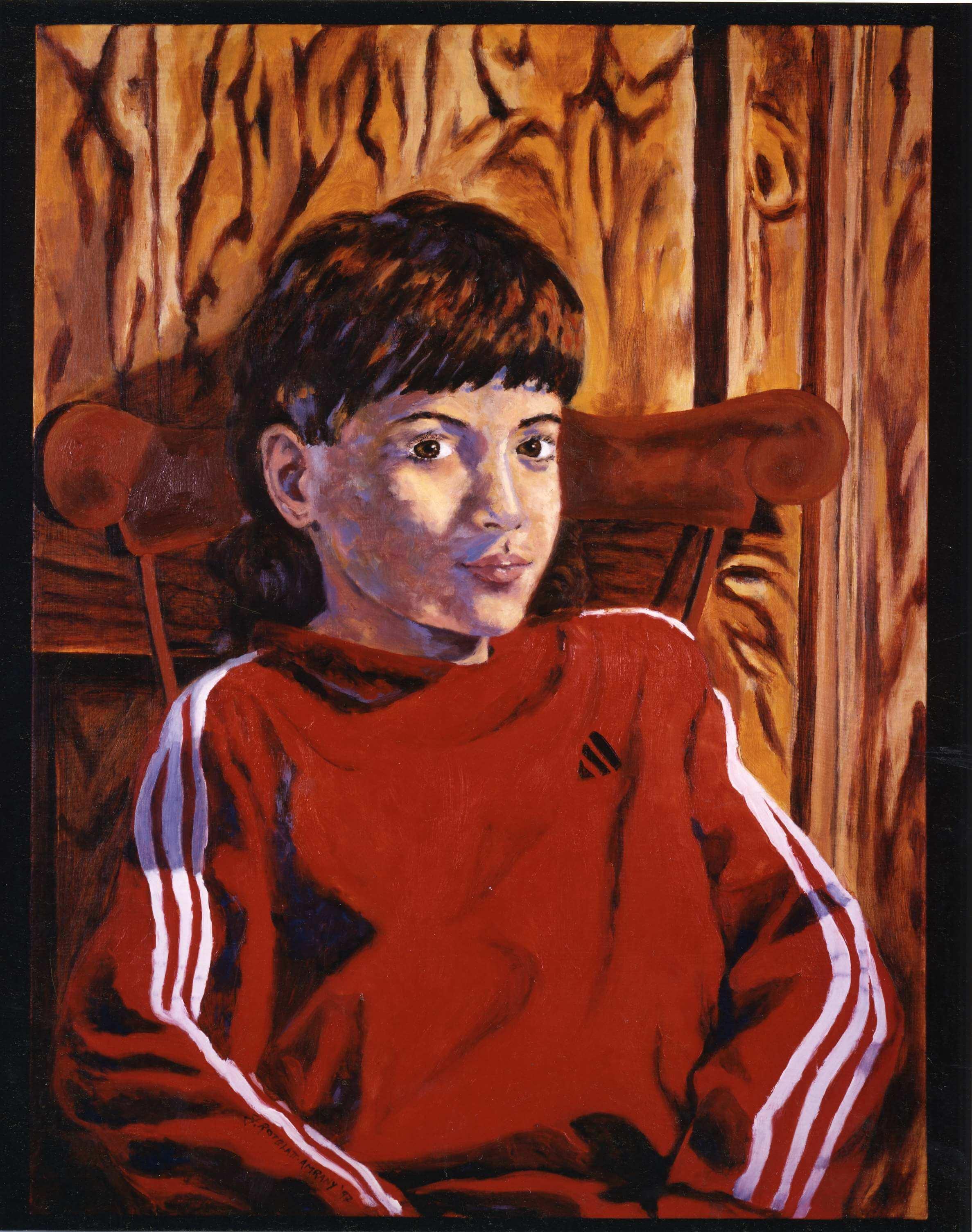 Portrait of Itamar