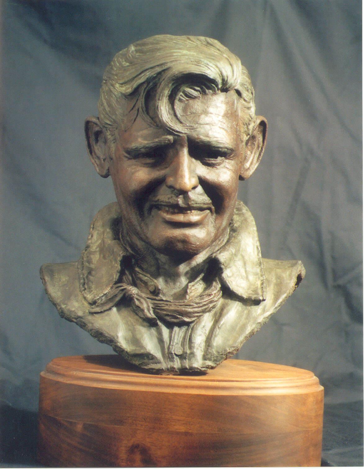 Clark Gable Bust