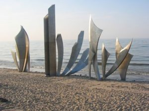 Les Braves Memorial of Omaha Beach | Fine Art Studio of
