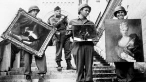 Monuments men art