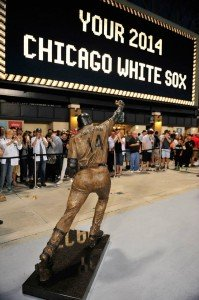 White Sox Paul Konerko statue back