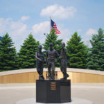 Thumbnail of Teamwork – Memorial Commission Bronze Statue
