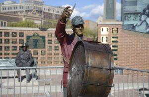 Drummer Bronze Commission Statue