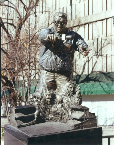 Harry Caray, Chicago Cubs, Wrigley Field, statue