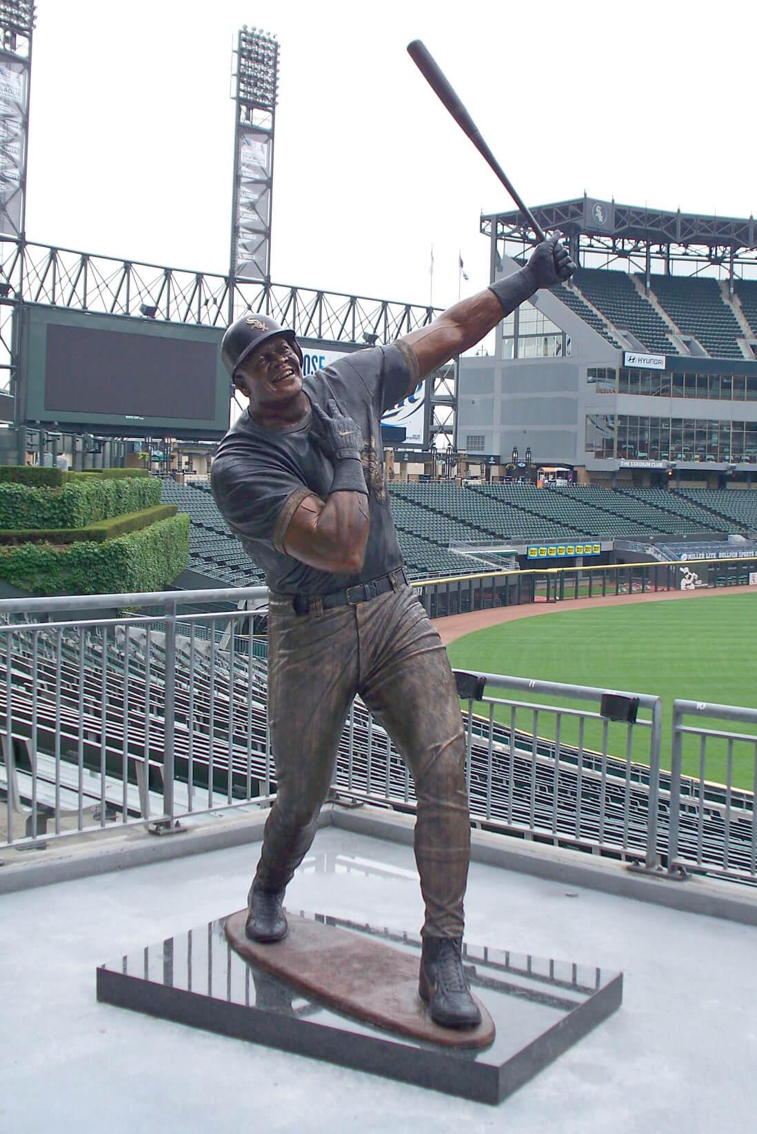 Frank Thomas, Big Hurt, statue, White Sox