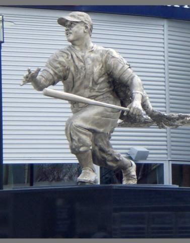 statue of Josh Gibson, Washington Nationals, DC