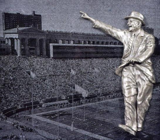 George Halas tribute, Chicago Bears, NFL