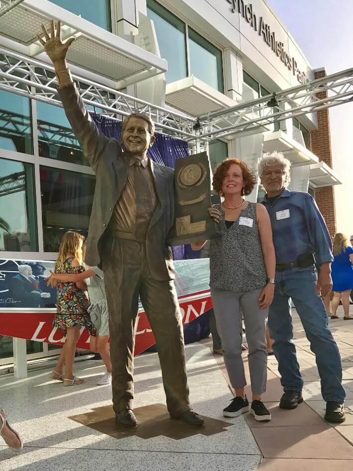 Lute Olson – Sports Commission Bronze Statue
