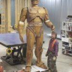 robocop statue