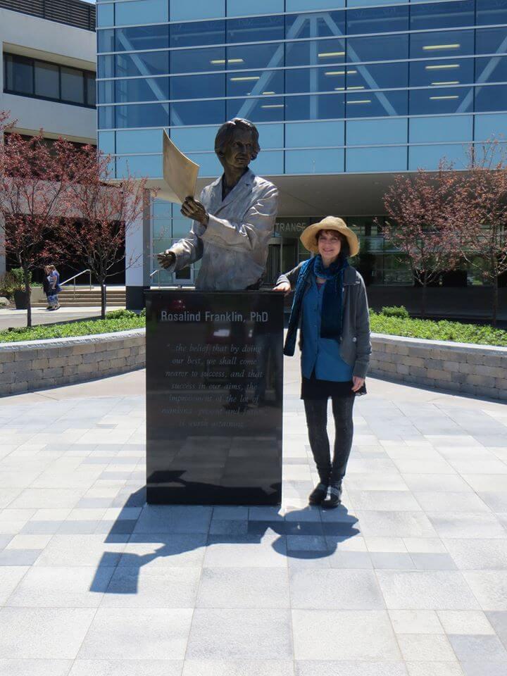 Rosalind Franklin Sculpture