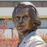Rosalind Franklin bronze bust