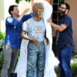 Napoleon Dynamite Statue