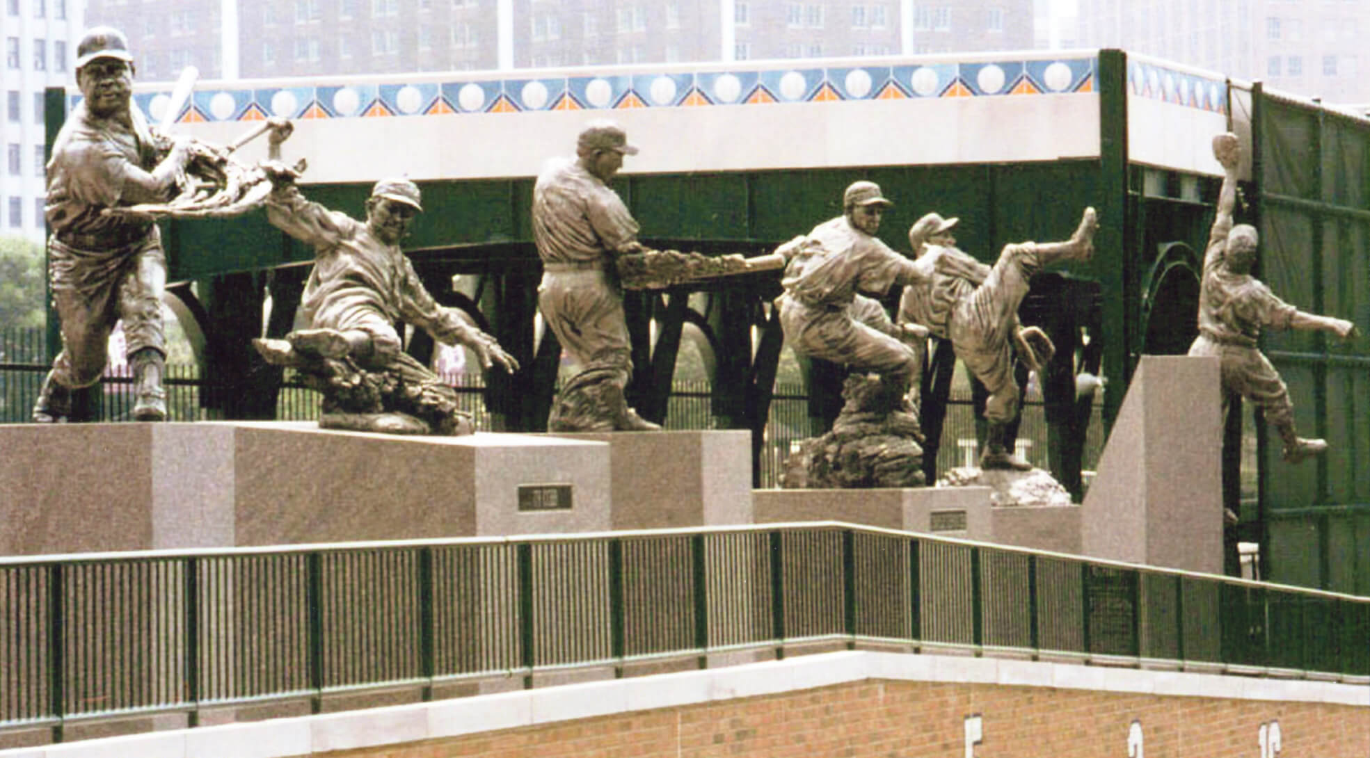 Detroit Tigers, Comerica Park, Hall of Fame