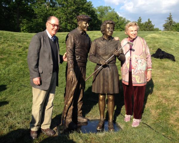 Pete Dye, Alice Dye, Crooked Stick Golf Club, Carmel