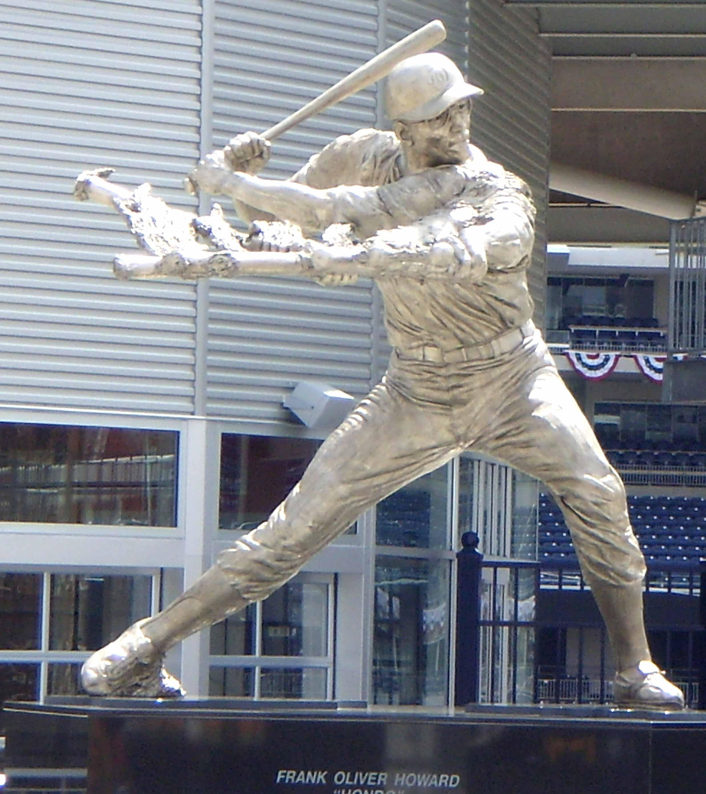 Frank Howard, statue, Washington Nationals