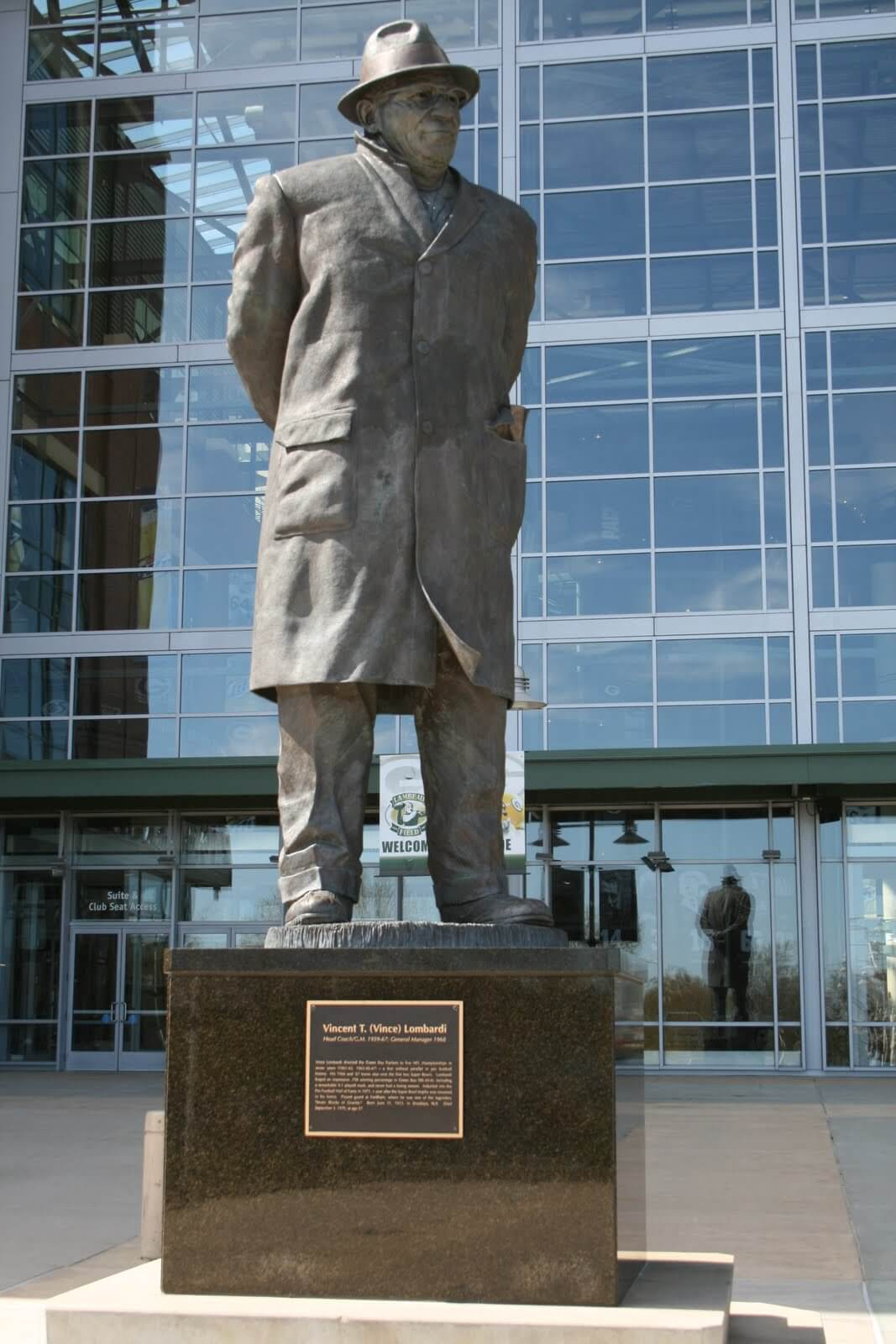 Vince Lombardi statue, Green Bay Packers