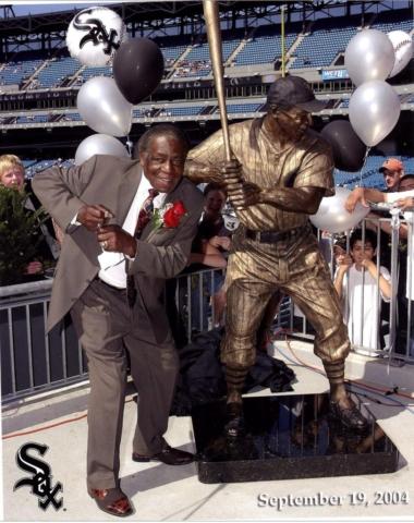 Minnie Minoso, Chicago White Sox, MLB, statue