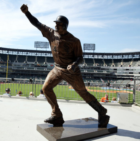Paul Konerko, statue, Chicago White Sox