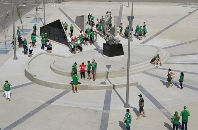 Saskatchewan Roughriders, CFL, monument, Mosaic Stadium, Regina