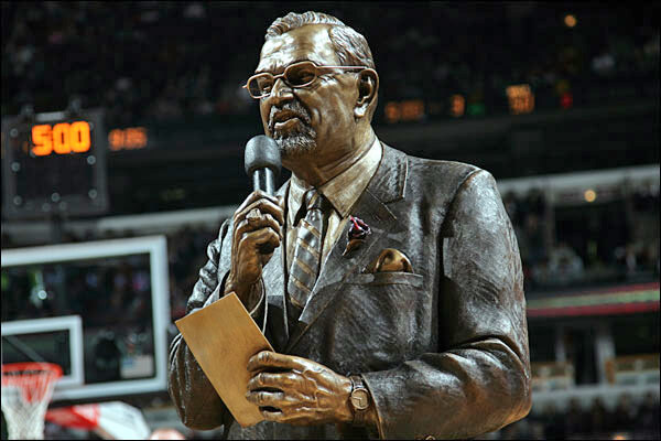 "Johnny ""Red"" Kerr, Chicago Bulls, statue"