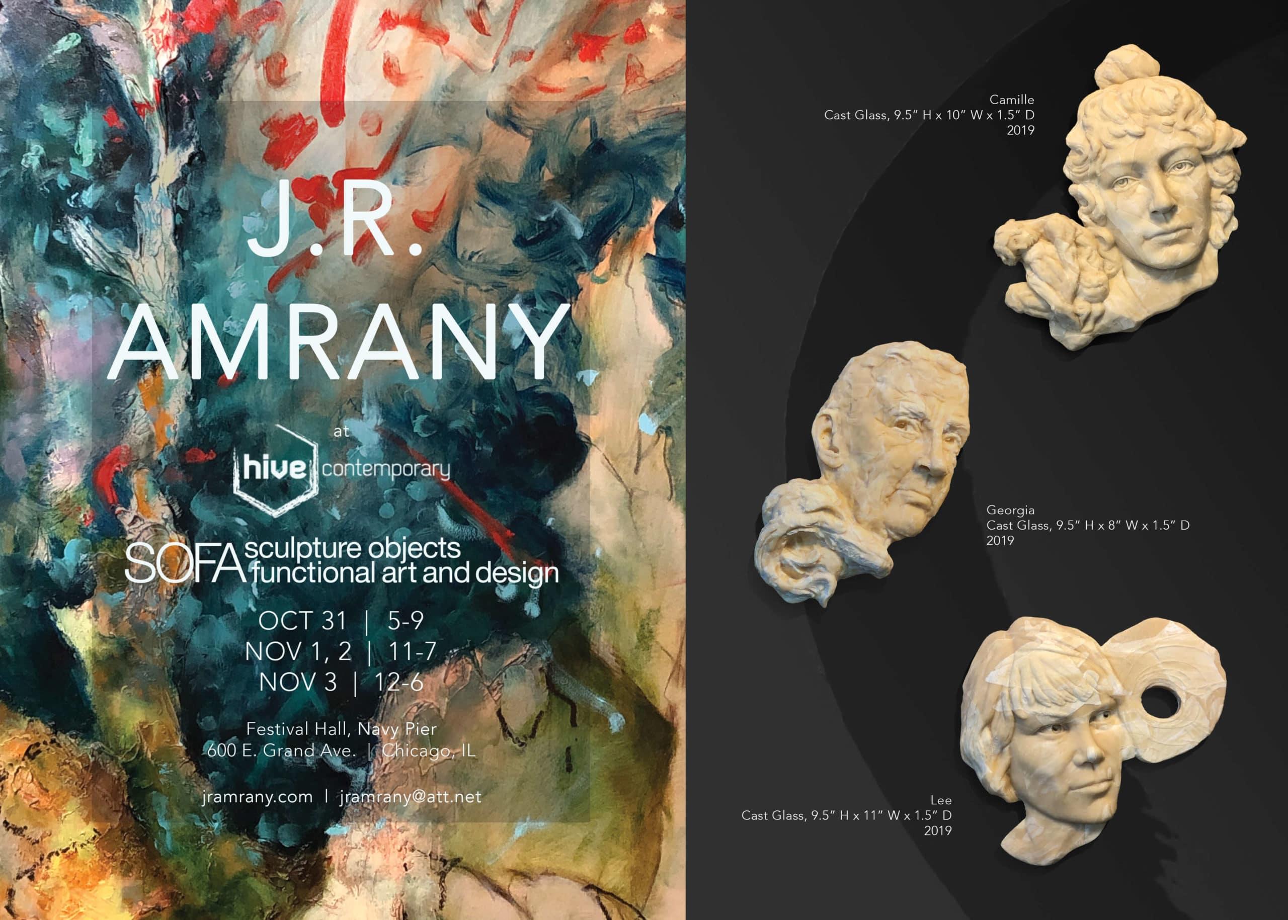 SOFA 2019 information regarding Julie Rotblatt-Amrany's artwork