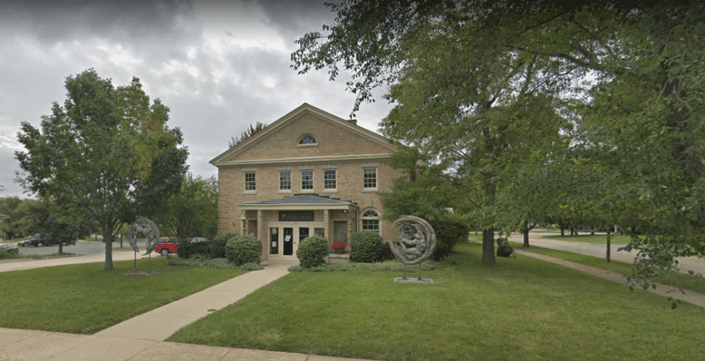Fine Art Studio of Rotblatt & Amrany building in Fort Sheridan